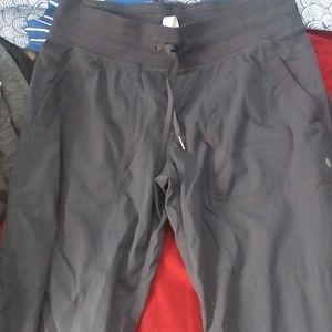 Lululemon Grey Loose Fit Pants Sz 10